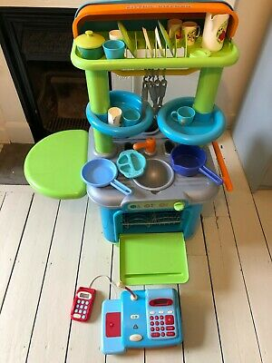 £5 • Buy Early Learning Centre Play Kitchen With Cash Register And Assorted Utensils