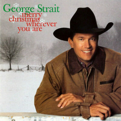 £4.86 • Buy George Strait, Cd  Merry Christmas Wherever You Are  New Sealed