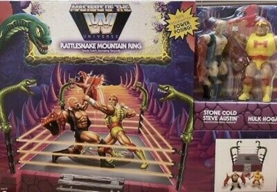 £125.99 • Buy Masters Of The WWE Universe Rattle Snake Mountain Ring