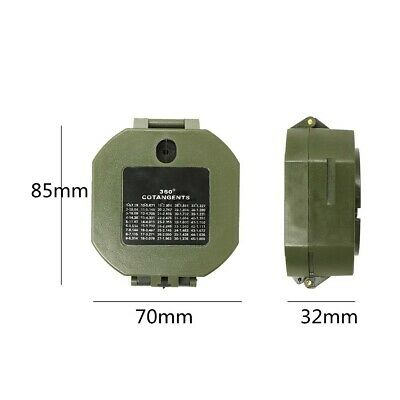 $24.44 • Buy Military Compass AF-M2-B Multifunctional Fluorescent Shockproof Waterproof Cheap
