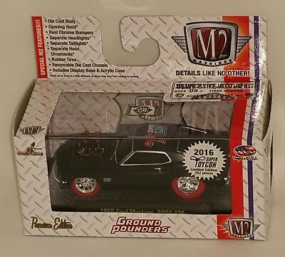 $45 • Buy 2016 M2 Super Toycon Convention Chase Car 1969 Ford Mustang Boss 429 1/ 252
