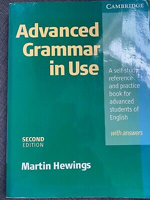 £7 • Buy Advanced Grammar In Use With Answers By Martin Hewings (Paperback, 2005)