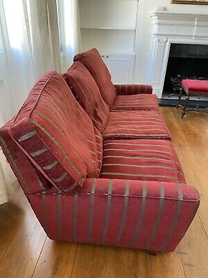 £60 • Buy Vintage Set Of Two Conran Stunning Large Sofas. In Need Of Recovering.