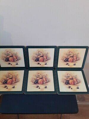 £33 • Buy Aynsley Orchard Gold - Boxed Set Of 6 Placemats In Good Clean But Used Condition