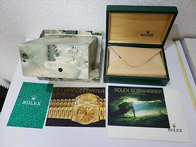 $ CDN338.63 • Buy Genuine Rolex 16610 Box With Submariner Booklet 1990