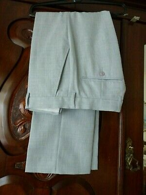 £4.50 • Buy Men's ...Taylor And Wright.. 32 S Polyester Grey Trousers