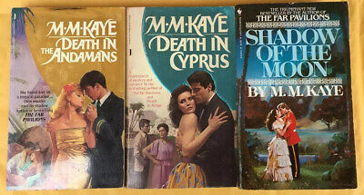 £0.71 • Buy M M Kaye Paperback Book Lot - Death In The Andamans, Death In Cyprus, Shadow Of