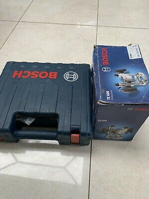 £38 • Buy Bosch GKF 600 Professional Hand Router 110v And Bosch TE 600 Plunge Base