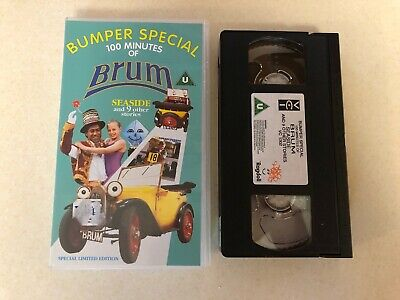 £11.99 • Buy Bumper Special 100 Minutes Of Brum, Seaside And 9 Other Stories VHS Video