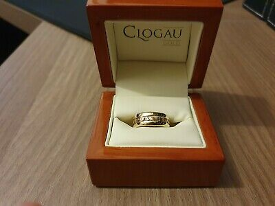 £199 • Buy Clogau Yellow & Rose Gold Tree Of Life Ring Size P (Excellent)