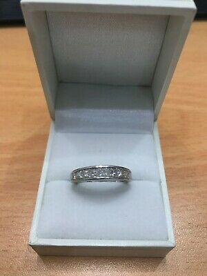 AU889 • Buy Ring White Gold 14K TWD 1.00CT Size 54