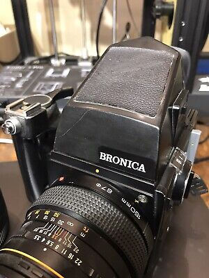 £400 • Buy Zenza Bronica SQ-A Kit With Zenzanon-PS 80mm F2:8 Lens And Two 120 Film Backs
