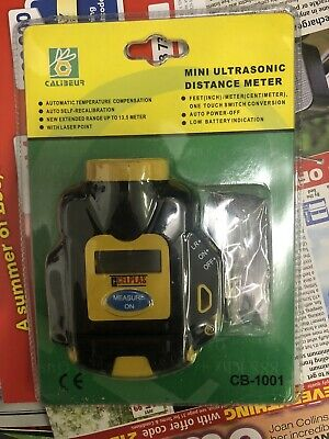 £11 • Buy Electronic Ultrasonic Measure Distance Meter With Laser LCD **UK FAST POST**