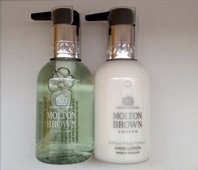 £16.29 • Buy Molton Brown Refined White Mulberry Hand Wash / Lotion Duo, 100mlx2