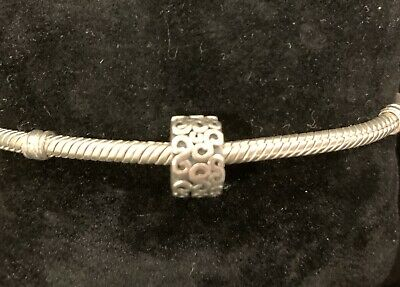 AU23.50 • Buy Authentic Pandora Sterling Silver Serpentine S Clip Charm 790338 Retired
