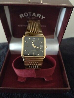 £5 • Buy Vintage Mens Rotary Watch Working New Battery Fitted