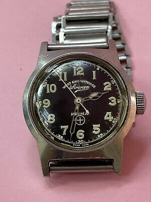 £119.44 • Buy Vintage Military WEST END WATCH CO SECUNDUS Hand Wind MOVEMENT SS WATCHES R2