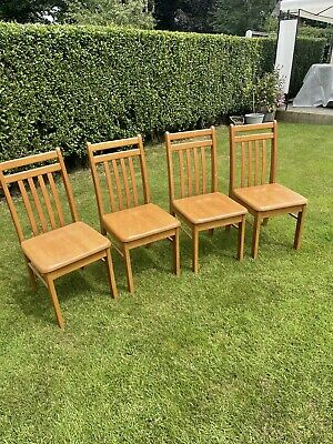 £20 • Buy 4 Solid Wood Dining Chairs
