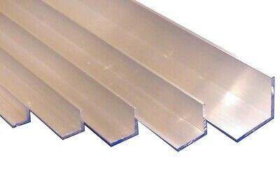 £3.56 • Buy 16th Aluminium Equal Right Angle  L  Section 3/8 , 1/2 , 5/8 , 3/4 & 1  Wide