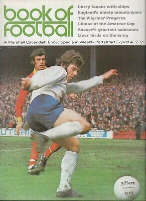 £3.50 • Buy Book Of Football Marshall Cavendish 1972 Part 57 Stirling, Plymouth, Scunthorpe