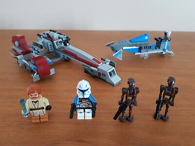 £85.45 • Buy LEGO Star Wars 75012 BARC SPEEDER With SIDECAR Captain Rex - Complet 2013 4 Fig.