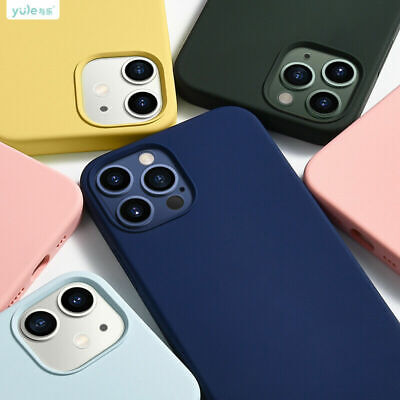 £3.99 • Buy Case For IPhone 11 12Pro Max Mini XR XS X 8 7 Plus SE Shockproof Silicone Cover