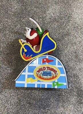 $29 • Buy 2002 M&M's Wild Thing Roller-coaster Candy Dispenser Limited Edition