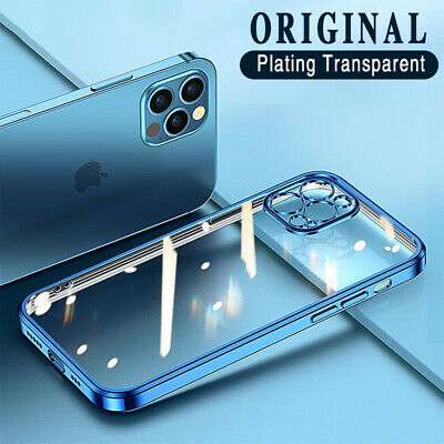 AU8.89 • Buy Clear Case For IPhone 12 11 Pro Max XS XR X 8 7 Plus Slim Shockproof Soft Cover