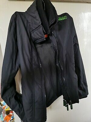 £2.40 • Buy Boys Superdry Double Black Label Small Jacket