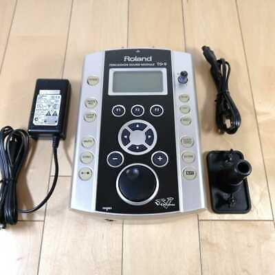AU362.16 • Buy ROLAND TD-9 Used Drum Brain Module Electronic Vdrum Machine V-Drums From Japan