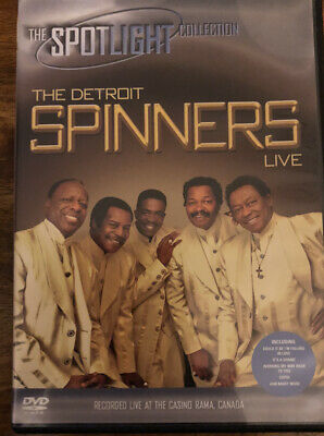 £5 • Buy The Spinners - Detroit Spinners Live Casino Rama DVD, 2006 Pre-owned