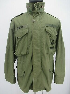 $25.99 • Buy M6771 VTG US ARMY Flyers ALPHA M-65 Could Weather Military Field Jacket Size M