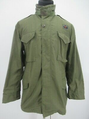 $25.99 • Buy M6772 VTG US ARMY Flyers M-65 Could Weather Military Field Jacket Size M