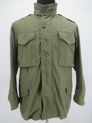 $25.99 • Buy M6774 VTG US ARMY Flyers M-65 Could Weather Military Field Jacket Size S