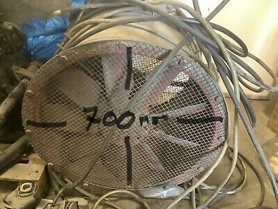 £240 • Buy Woods 3 Phase Extraction/ventilation Fan 700mm