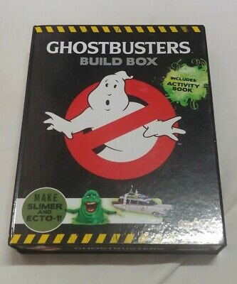 £8.99 • Buy Ghostbusters Build Box, Model Kit Of Slimer And Ecto 1!