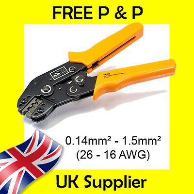 £17.45 • Buy 0.14-1.5mm2 Tyco Econoseal, Superseal Dupont Amp Terminal Cable Crimp Tool