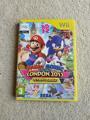 £2.30 • Buy Mario & Sonic At The London 2012 Olympic Games : Nintendo Wii & Wii U Video Game