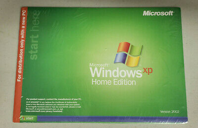 £43.50 • Buy Windows XP Home Edition 2002 New Sealed
