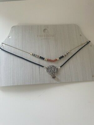 £3.99 • Buy Topshop Freedom Layered Necklace, Brand New, Gift, Costume Jewellery Beards