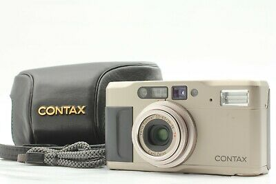 $ CDN692.35 • Buy 【EXC5 W/Data Back】CONTAX TVS II Point & Shoot Film Camera W/Case From Japan #102