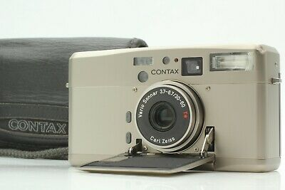 $ CDN742.71 • Buy [MINT LCD Works] CONTAX TVS III Poin T & Shoot Film Camera W/Case From Japan#103