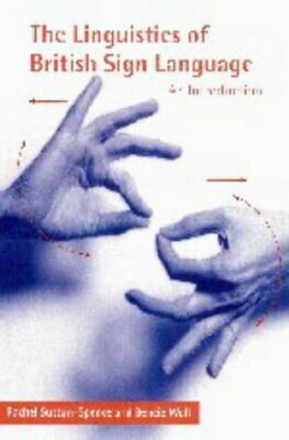 £40.63 • Buy The Linguistics Of British Sign Language: An I By Rachel Sutton- Spence New Book