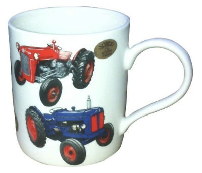 £6.79 • Buy Classic Tractor Farming Countryside Farm Print Mug Drinking Cup Kitchen Gift NEW