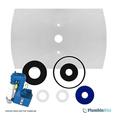 £8.95 • Buy Dudley Turbo 88 Syphon Diaphragm Cistern Washer Pack & Service Seal Kit 319228