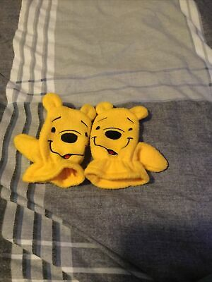 £0.50 • Buy Babys Winnie The Pooh Gloves - Aged One Size