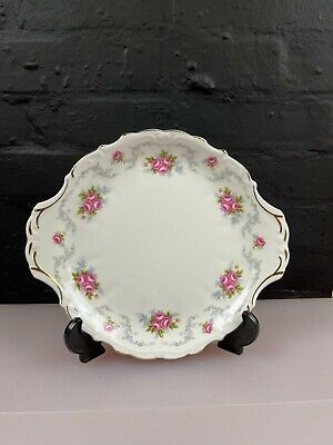 £18.99 • Buy Royal Albert Tranquility Eared Cake / Bread Plate 26.5 Cm Wide 1st Quality