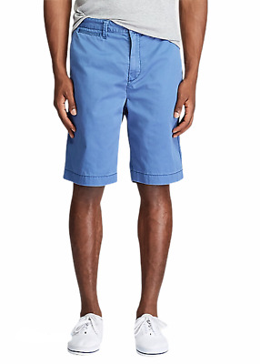$49.95 • Buy Polo Ralph Lauren Men's Chino 10  Shorts Old Royal Blue Size 35 New NWT Fast 🔥