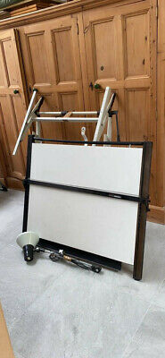 £70 • Buy Architects Parallel Motion Drawing Board Adjustable Stand And Light Vistaplan