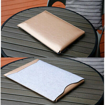 $10.95 • Buy Gold Wool Felt Laptop Sleeve Bag Case+Mouse Pad For MacBook AIR PRO 11 13 15